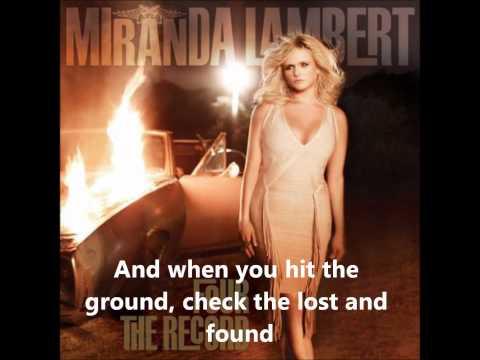Baggage Claim by Miranda Lambert w/lyrics