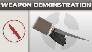 Weapon Demonstration: Sharp Dresser