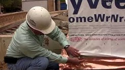 Homes By Deesign: Tyvek Homewrap & Copper Termite Shields