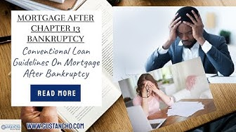 Mortgage After Chapter 13 Bankruptcy