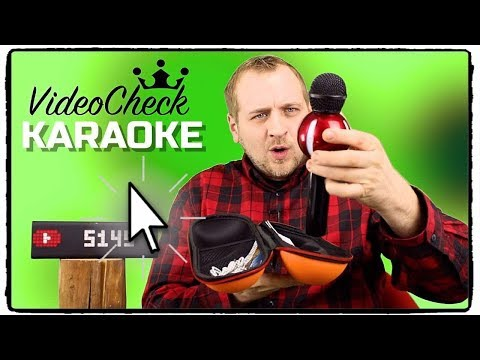 KARAOKE MIKROFON ❌ TOP SELLER VON AMAZON ⭐⭐⭐⭐⭐ TEST / REVIEW / DEUTSCH