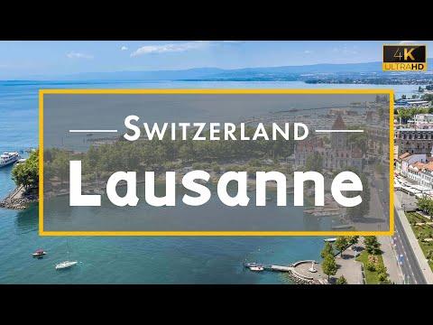 Lausanne, The Olympic capital, Switzerland   4K UHD