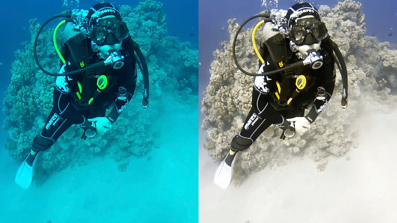 Underwater color correction with photoshop tutorial youtube baditri Image collections