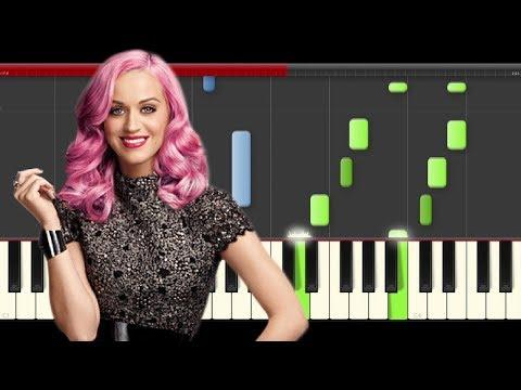 Katy Perry Save as Draft Piano Midi tutorial Sheet app Cover Karaoke