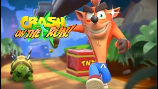 Segunda serie: Crash Bandicoot: On the run!