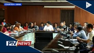 Inter-agency meeting ukol sa Manila Bay rehabilitation, isinagawa