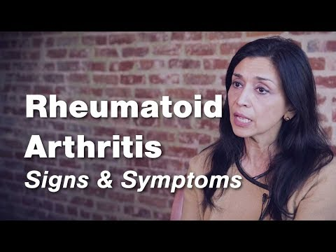 Rheumatoid Arthritis Signs Symptoms Johns Hopkins Medicine Youtube