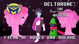 deltarune the not musical field of hopes and dreams