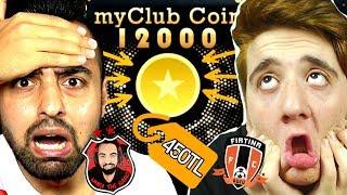 KAYBEDEN KAZANANA 12000 MY CLUB PARASI ALIYOR ! EMJAN VS ÜMİDİ !