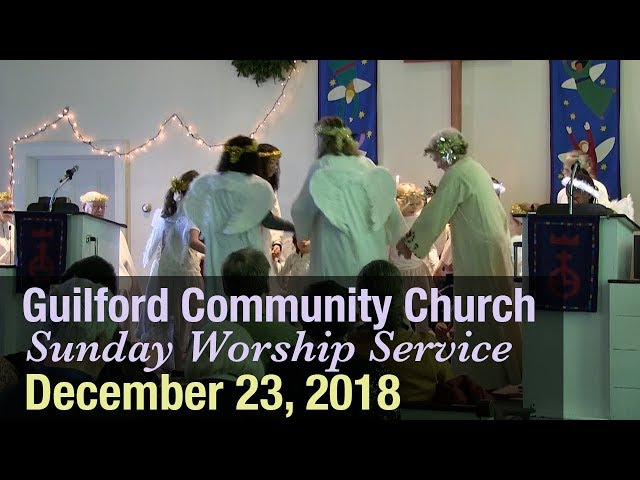 Guilford Church Service - 12/23/18