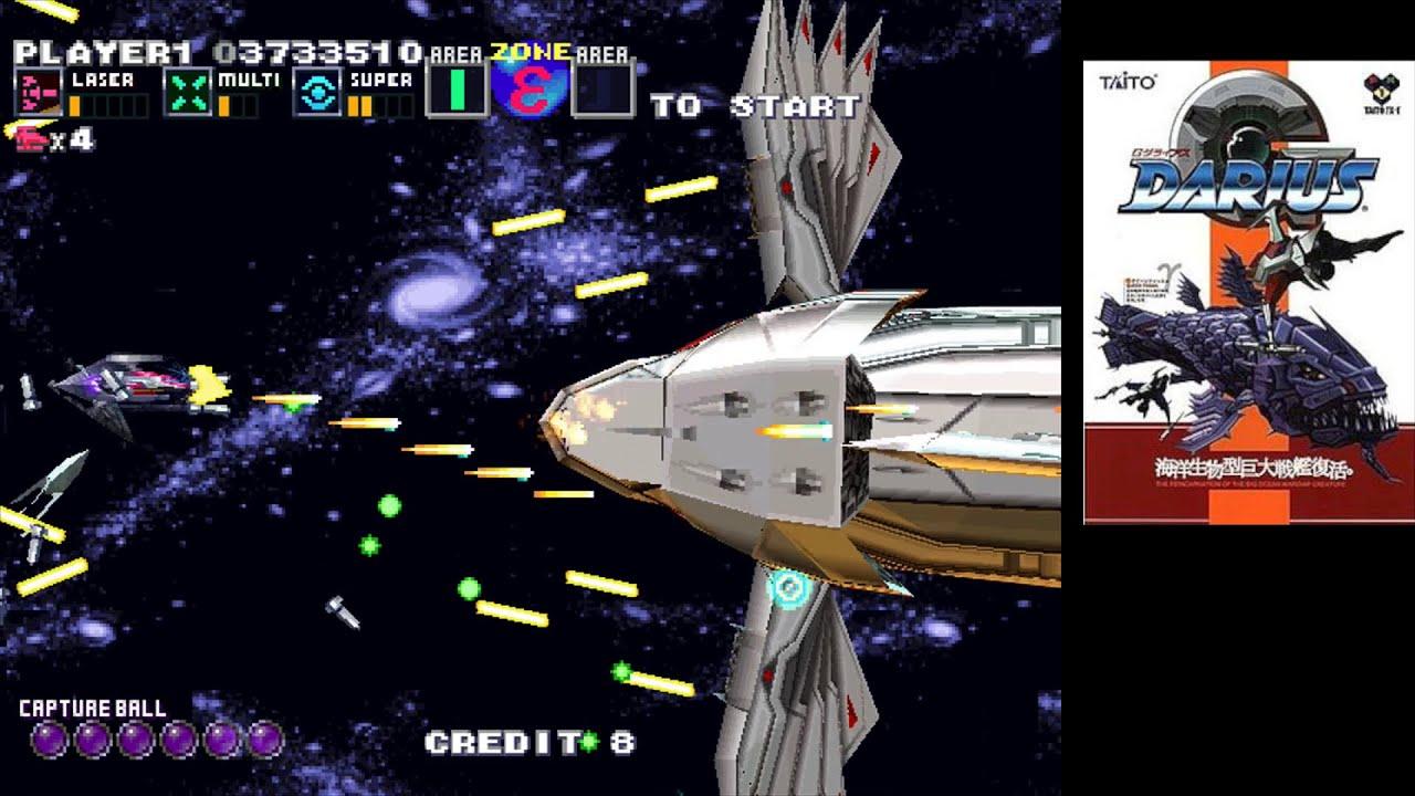 G-Darius ... (PC) [2000] Gameplay - YouTube