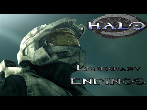 Halo - All Legendary Endings