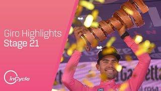 Giro d'Italia: Stage 21 - Highlights