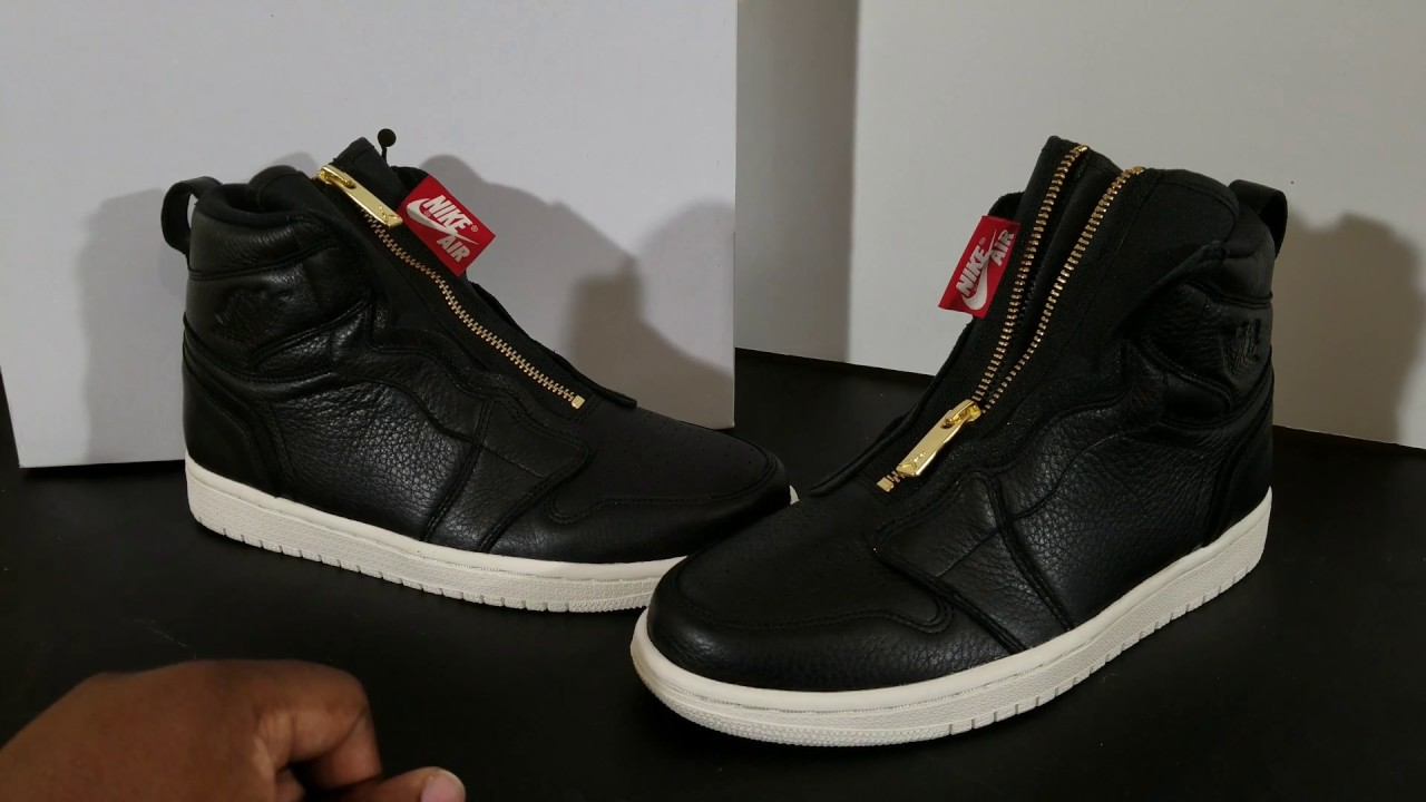 premium selection bac5d 49405 Air Jordan Retro 1 Zip  Premium Leather For The Ladies