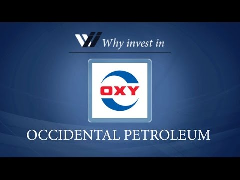 Occidental Petroleum - Why invest in 2015