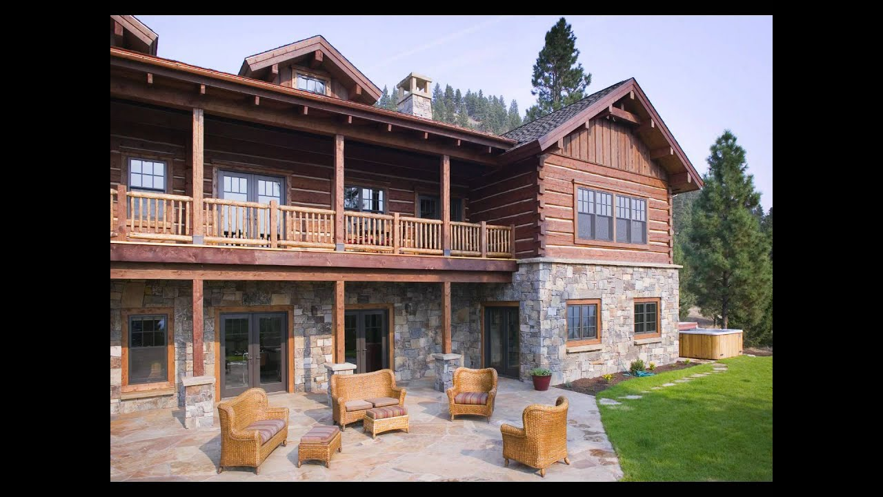 dovetail log homes by rocky mountain and pioneer log homes youtube. Black Bedroom Furniture Sets. Home Design Ideas