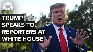 President Trump holds a news conference at the White House - 10/18/2019