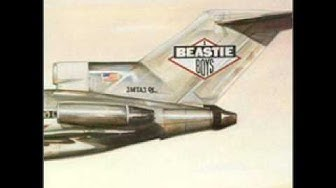 Beastie Boys - The New Style Licensed To Ill With Lyrics