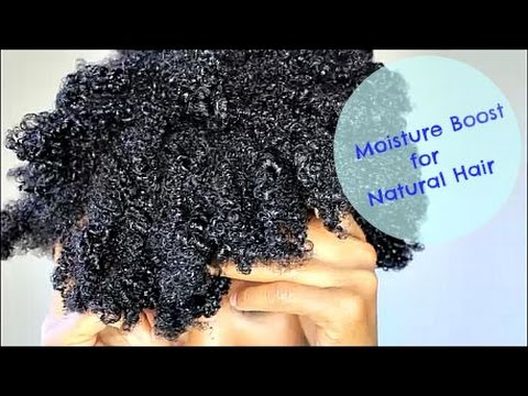 Moisture Boost For Natural Hair Ft Design Essentials Natural