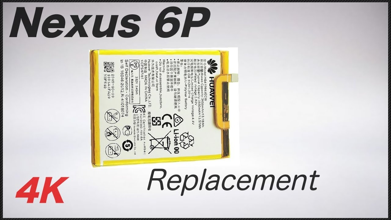 Nexus 6p Battery Replacement Youtube