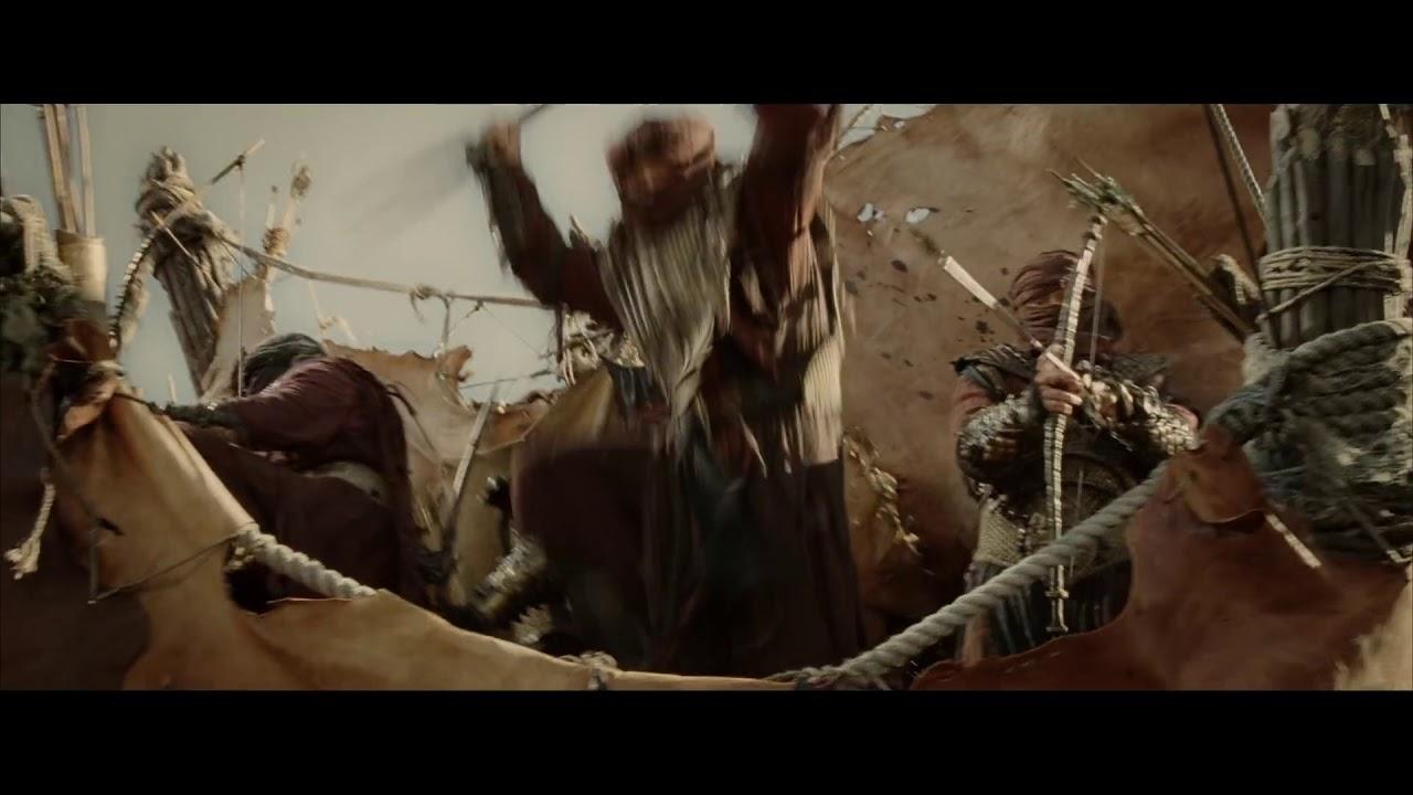 The Lord of the Rings - Legolas kill a Mumakil - YouTube