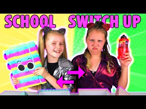 BACK TO SCHOOL SWITCH UP CHALLENGE!! #2