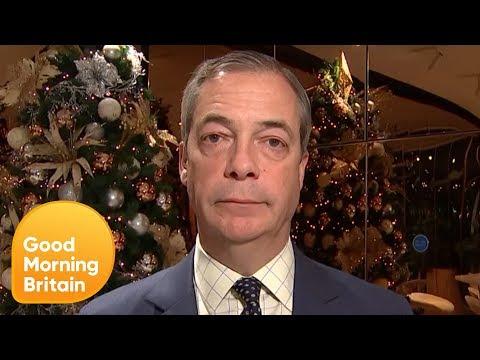 Nigel Farage on Terror Legislation and ITV Leaders Debate   Good Morning Britain