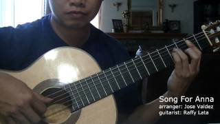 Song For Anna - (arr. Jose Valdez)