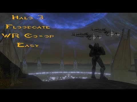 [WR] Halo 3 Floodgate Easy Co-op in 2:27 By Harc and Sekela