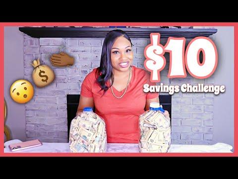 $10 SAVINGS CHALLENGE | 6 Month Savings Challenge | 52 Week Savings Challenges