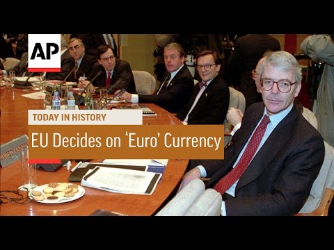 EU Decides on Euro Currency - 1995 | Today in History | 15 Dec 16