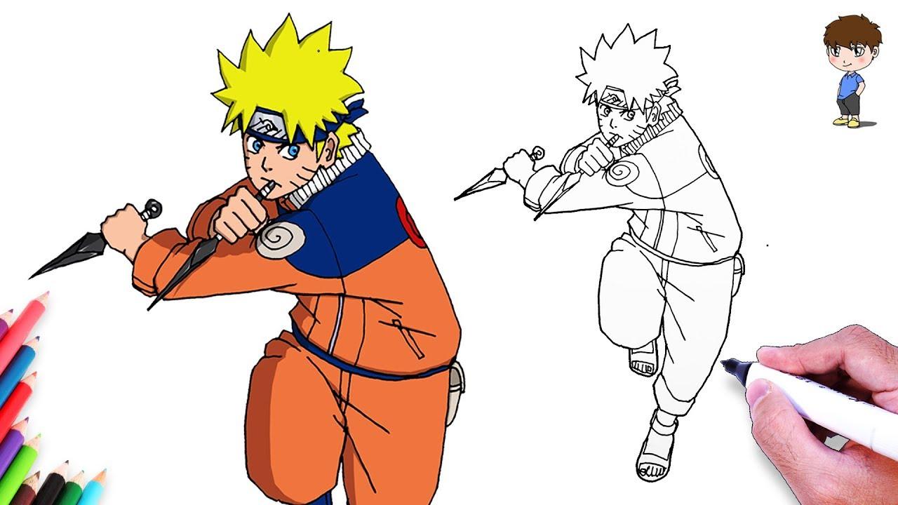 Comment dessiner naruto facilement dessin de naruto - Naruto facile a dessiner ...