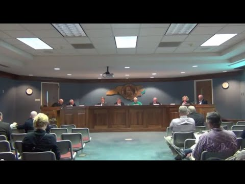 Cleveland County Commissioners meeting 11-04-2014
