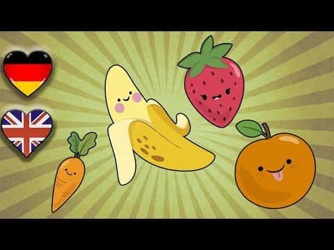 Englisch Lernen Kinder | Früchte und Gemüse | Fruits and Vegetables | Englisch lernen Grundschul