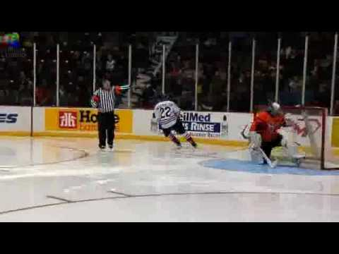 Sick One-Handed Shootout Goal!