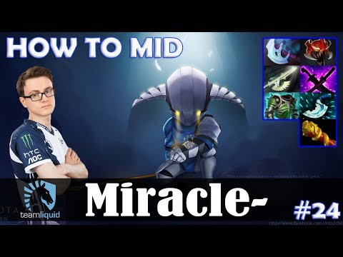 Miracle - Sven HOW TO MID | 7.07 Update Patch Dota 2 Pro MMR  Gameplay #24 thumbnail