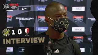 Interview with Wright-Phillips after scoring the winning goal for Columbus Crew