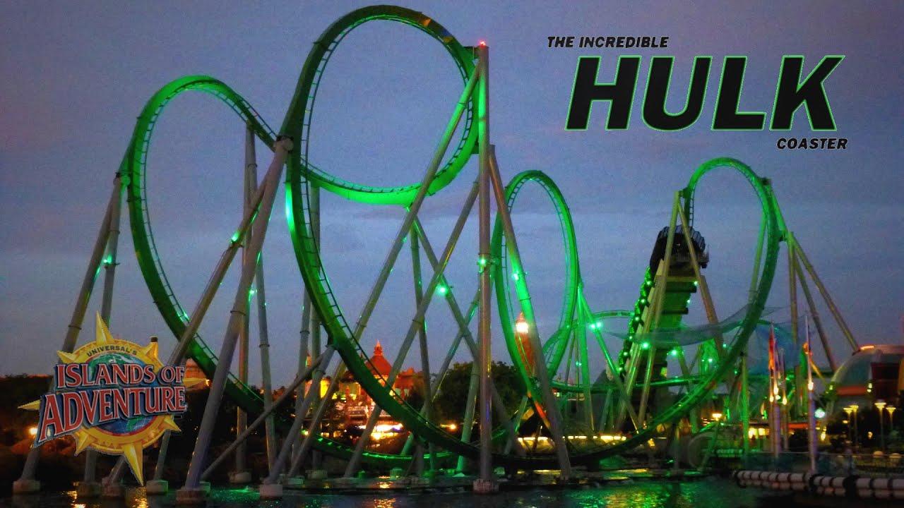 Islands Of Adventure New Hulk Ride