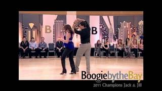 Brennar Goree & Jennifer DeLuca - 2011 Boogie by the Bay (BbB) - WCS Dance Champions Jack & Jill
