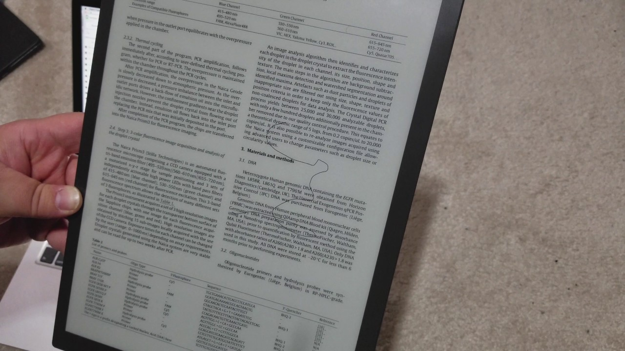 Kindle Vs Sony Reader: Mini-Review And First Impressions Of The Sony DPT-RP1 D