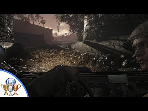 Call of Duty WW2 - Sunday Driver Trophy - Drive in S.O.E. without hitting obstacles (Mission 4)