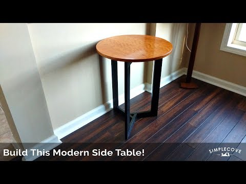 Modern Table | How-To Series | DIY Woodworking