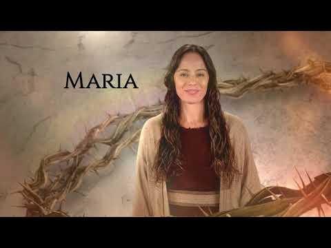 Maria foi escolhida para dar à luz ao filho de Deus