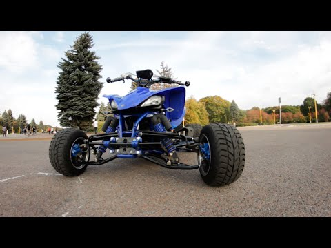 [BEZDорожный Drive] YAMAHA YFZ 450 & RAPTOR 700 Project edition