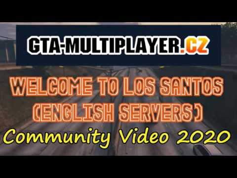 GTA-MP.CZ Community Video 2020 (English Servers)