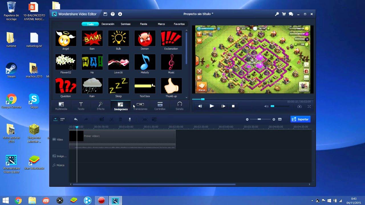 Como grabar la pantalla de tu pc y editar video facilmente for Escritorio para pc