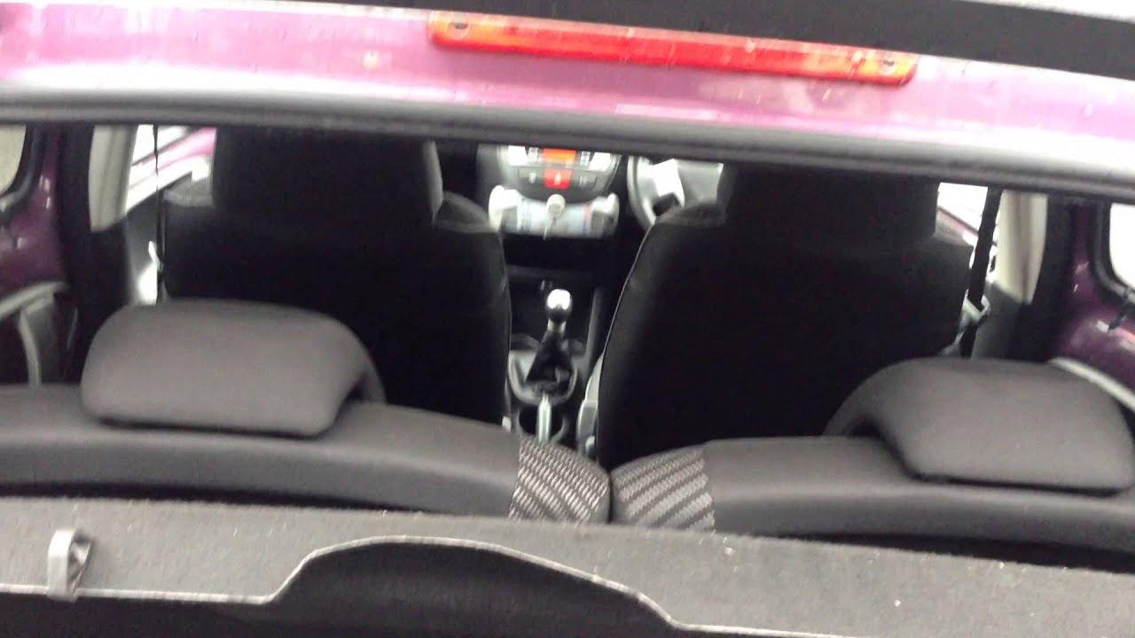 2012 Peugeot 107 5 Door Hatchback 1 0 12v Allure Vk12 Jvh