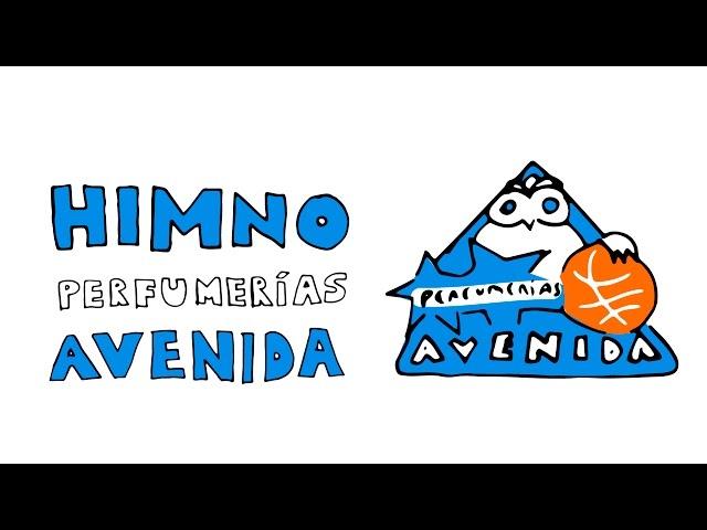 El himno del Perfumerías Avenida de Salamanca con dibujos y letra