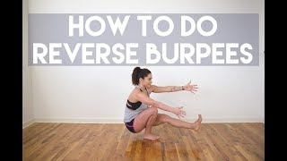 How to Do Reverse Burpees plus a Mini Workout