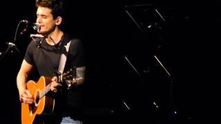 XO John Mayer Sydney 24 04 2014